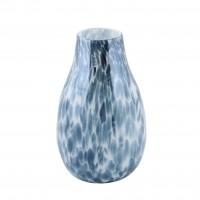 Vaza decorativa L295C, din sticla colorata, H 29.5 cm
