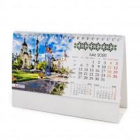 Calendar pentru birou, carton, diverse modele, 6 coli