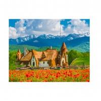 Tablou canvas PT4150, pe panza, peisaj, 35 x 45 cm
