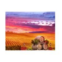 Tablou canvas PT4190, pe panza, peisaj, 35 x 45 cm
