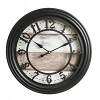 Ceas perete 19KL1020, rotund, metalic, analog, 35 cm