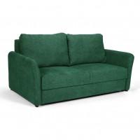 Canapea extensibila 2 locuri Ella, verde, 183 x 103 x 95 cm, 1C
