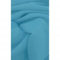 Perdea Roxy S18, poliester, turcoaz, H 280 cm