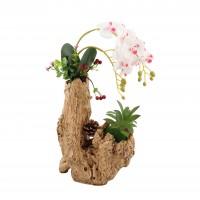 Aranjament flori artificiale SG06, H 44 cm
