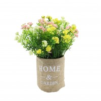 Aranjament floral G42, H 18 cm