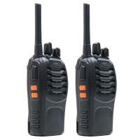 Statie radio emisie / receptie UHF portabila PNI PMR R20, set 2 bucati, squelch automat, scanare canale, Time Out Timer, monitorizare canale, programabila cu software, lanterna incorporata, incarcatoare si casti incluse