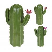 Decoratiune cactus, ceramica, Koopman ALX111380, diverse modele, H 23 cm