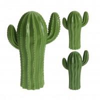 Decoratiune cactus, ceramica, Koopman 795005011, diverse modele, H 23 cm