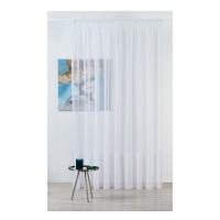 Perdea Mendola Fabrics, model Winona, Monograma, natur, bej, H 300 cm