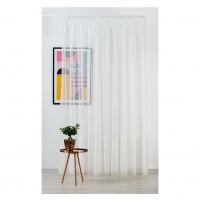 Perdea Mendola Fabrics, model Winona, Monograma, natur, crem, H 300 cm