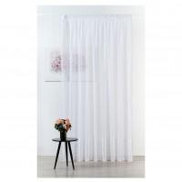 Perdea Mendola Fabrics, model Omnia, Jade, natur, alb, H 300 cm
