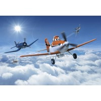 Fototapet hartie Disney Planes Above The Clouds SD 465 368 x 254 cm