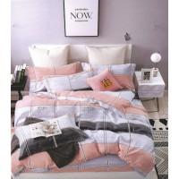 Lenjerie de pat Vanessa, 2 persoane, microfibra, 4 piese, multicolor