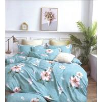 Lenjerie de pat pentru 2 persoane, microfibra, 4 piese, multicolor