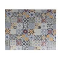 Fata de masa Mosaic W0011-2, 100 % PVC, latime 140 cm