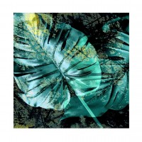 Tablou canvas Decor 04538, Tropical, panza + sasiu, 60 x 60 cm