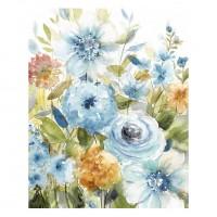 Tablou canvas Decor 04580, Flori de vara, panza + sasiu, 60 x 75 cm