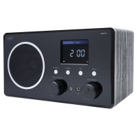 Radio digital prin internet / DAB / FM PNI RD290, 3 W, alimentare retea, conectare prin Wi-Fi, analog FM, Spotify Connect, App Air Music Control, DLNA, UPnP, Dual Alarm, Aux in, Line-out 3.5 mm, ecran color 2.4 inch, telecomanda