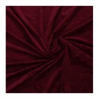 Draperie SN Deco, YD010/V25, catifea, visiniu, semiopac, H 280 cm