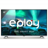 Televizor LED Smart Allview 32ePlay6100-H/1, diagonala 81 cm, HD, sistem operare Android TV 9.0, negru + argintiu