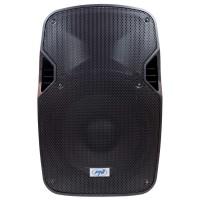 Sistem audio PNI FunBox BT1800, 1 boxa activa, 180 W, Bluetooth, USB, SD card slot, radio FM, intrare microfon, afisaj LCD, functie Echo, functie karaoke, negru, 2 microfoane UHF, telecomanda