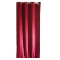 Draperie Velvet Shade 50, Caressa, poliester, rosu, 135 x 245 cm