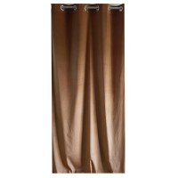 Draperie Velvet Shade 71, Caressa, poliester, maro, 135 x 245 cm