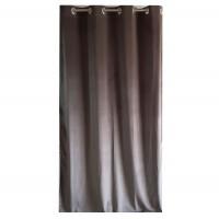 Draperie Velvet Shade 74, Caressa, poliester, gri, 135 x 245 cm