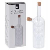 Recipient pentru ulei si otet 170456840, sticla transparenta, 5.5 x 22 cm