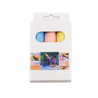 Creta colorata rotunda, set 3 culori