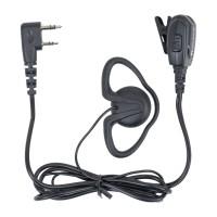 Casca cu microfon Midland BA24, cod C1296, 2 pini de tip Kenwood, buton PTT