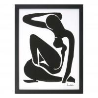 Rama foto 14906T 2, tip A4, MDF, negru, 30 x 40 cm