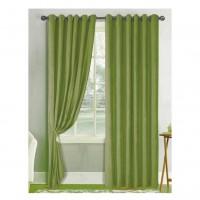 Draperie Atria, Velvet Amelie 5018-918128, catifea, verde olive, semiopac, H 280 cm