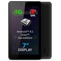 Tableta Allview AX503, ecran 7 inch, sistem operare Android 8.1, Quad Core, 8 GB, 1 GB RAM, Wi-Fi + 3G, functie de apelare, accelerometru, GPS, Hotspot, Bluetooth, neagra