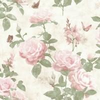 Tapet hartie, model floral, Rasch Best Of 215007, 10 x 0.53 m
