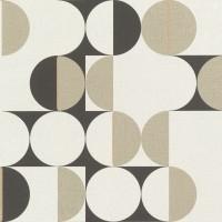 Tapet netesut, model geometric, Rasch Botanique 538021, 10 x 0.53 m