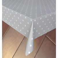 Fata de masa la rola, Dots A387E, 100 % PVC, buline, latime 140 cm