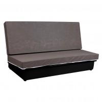 Canapea extensibila 3 locuri Click-Clack Luxeil, cu lada, fara husa, 190 x 88 x 90 cm, 1C