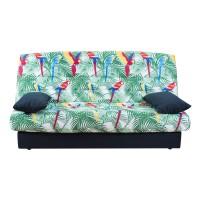 Husa Jungle pentru canapea Click-Clack, poliester multicolor