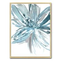 Tablou canvas TA21-AP0270, floare in acuarela, panza, cu rama, 40 x 30 cm