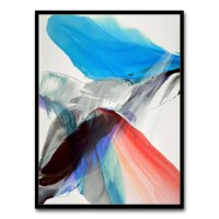 Tablou canvas TA21-AP0258, abstract, panza, cu rama, 40 x 30 cm