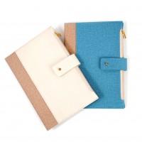 Agenda nedatata, Arhi Design, cu 2 buzunare, format A5, 224 pagini, modele diferite