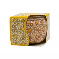 Lumanare in pahar decorativ, Aroma Land, vanilie, 85 g