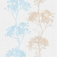 Tapet netesut, model arbori, Sintra Sensitive 372418, 10.05 x 0.53 m
