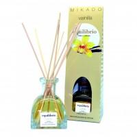 Odorizant camera cu betisoare, Mikado, Equilibrio, esenta vanilie, 100 ml