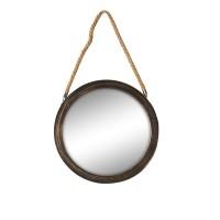 Oglinda decorativa 1249-30-R, rotunda, 30 x 30 x 2 cm