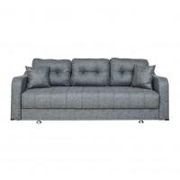 Canapea extensibila 3 locuri Ultra, cu lada, turcoaz, 222 x 105 x 75 cm, 1C