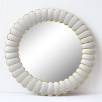 Oglinda decorativa 6058, rotunda, 60 x 60 x 3 cm