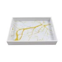 Tava dreptunghiulara pentru servire, din MDF, JX2011S, 35 x 25 x 5 cm
