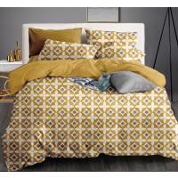 Lenjerie de pat Caressa 75A2283 121, 2 persoane, microfibra, multicolor, 4 piese
